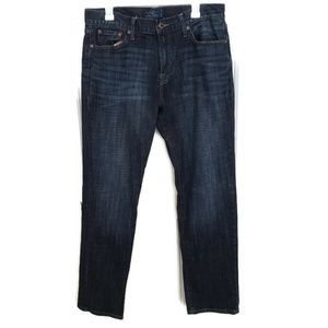 Lucky Brand 221 Original Straight Jeans Dark Wash